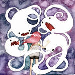 my only friends by gedatsu-kitteh