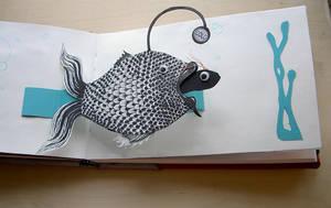 pop-up book page by Zita-Art
