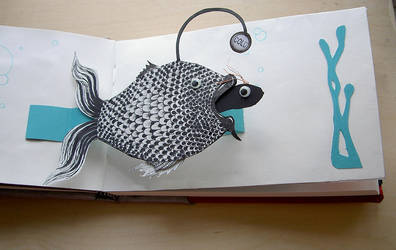 pop-up book page