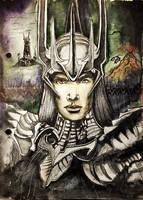 Sauron by Galinaxsim