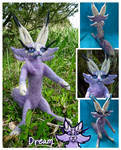 Needle felted character (Dream) by CookieCandyCat