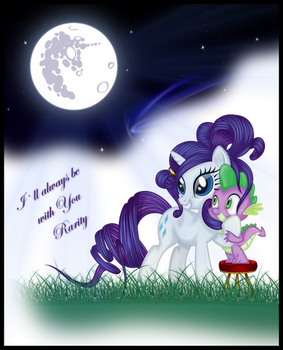 I'll always be with You Rarity