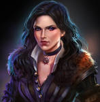Yennefer. The Witcher