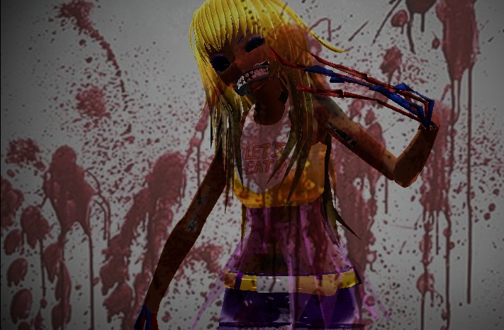 crazy withered chica mmd by gigi12anime on deviantart