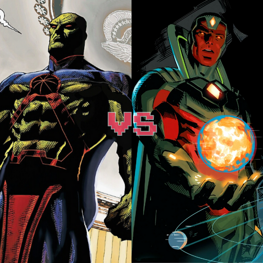 Death Battle Idea: Manhunter Vs The Vision By