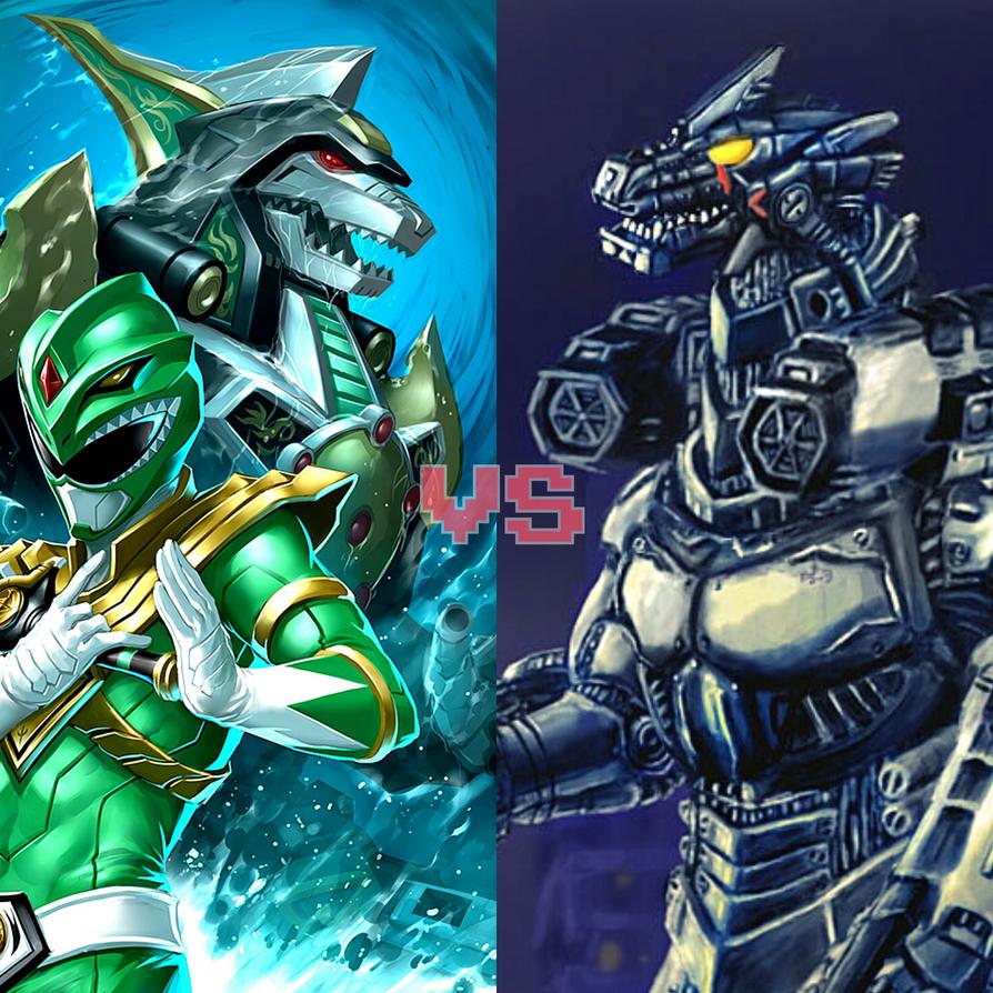 Death Battle Idea Dragonzord Vs Mechagodzilla MK3 By