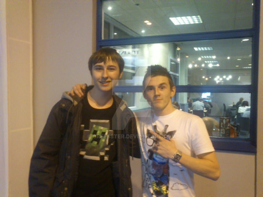 Me And Tom Of The Syndicate Project By Greebster