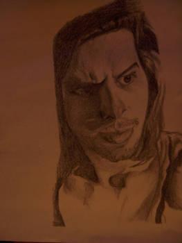 Graphite Portrait of Clint