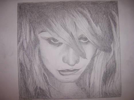 Graphite Portrait of Olivia