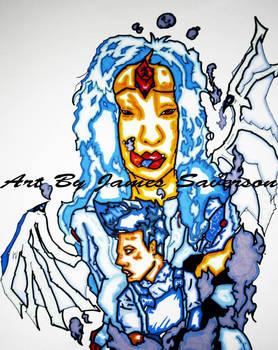Love Between Sapphire and Lapis Lazuli