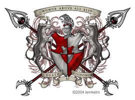 DBD Family Coat of Arms by RemukiiShiko