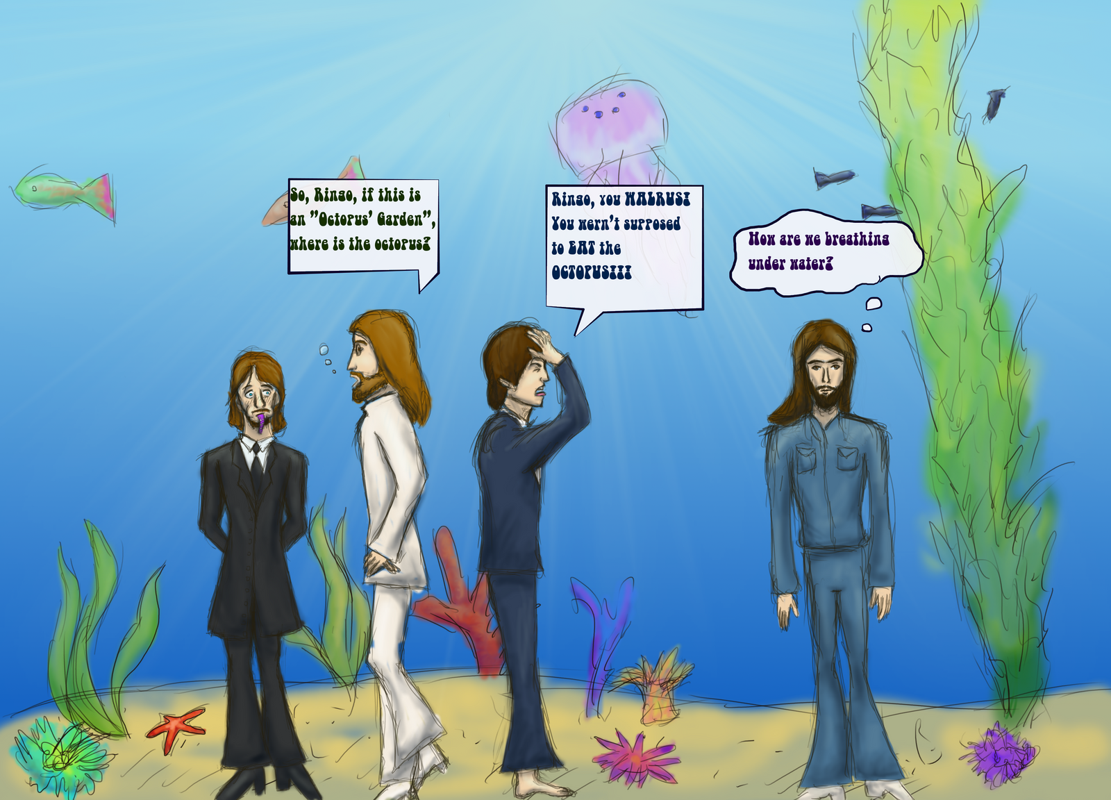 Octopus's Garden Compilation 92