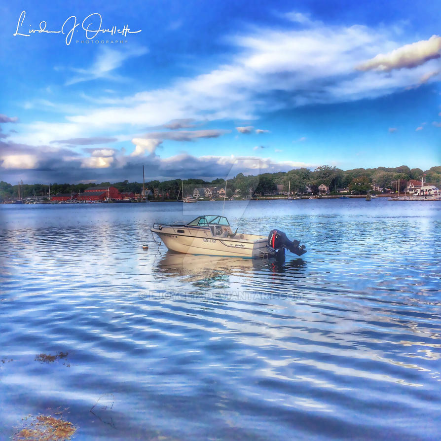 A Boat Just Waiting... by Ljoyce12