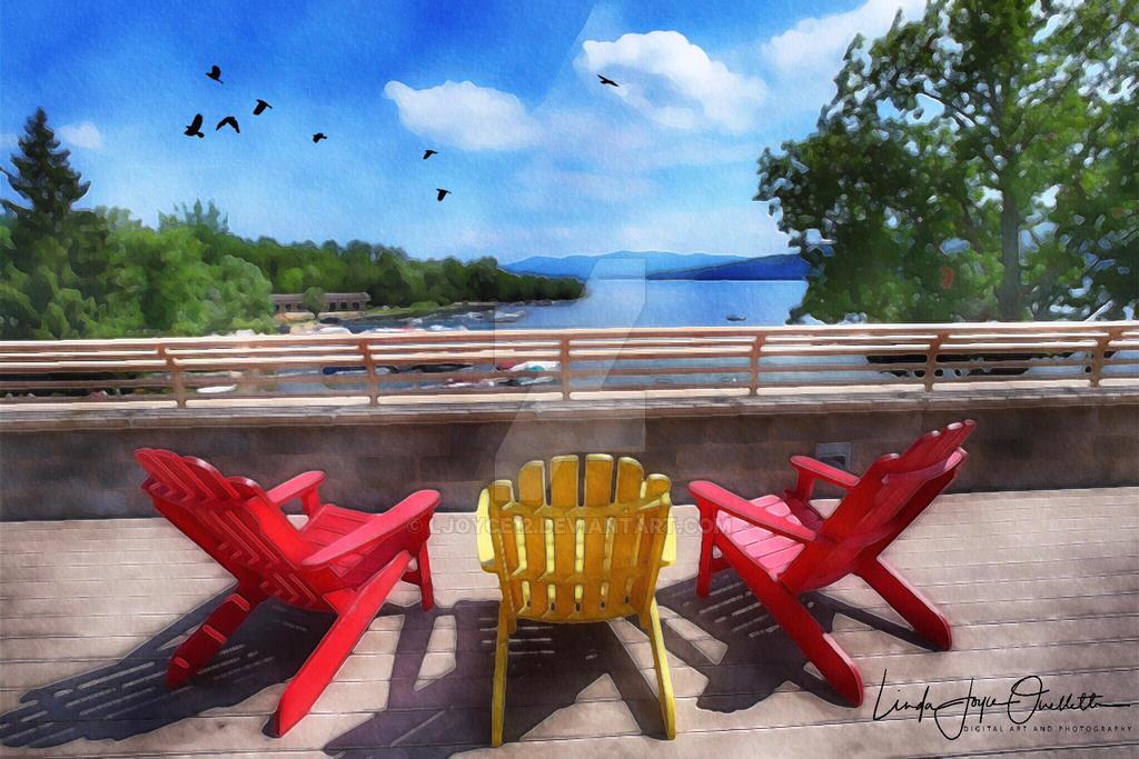 Surfside Adirondacks: Lake George, New York by Ljoyce12