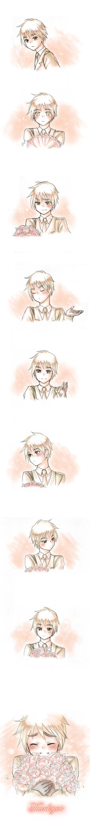 "aph england ""thank you"" by mikitaka"