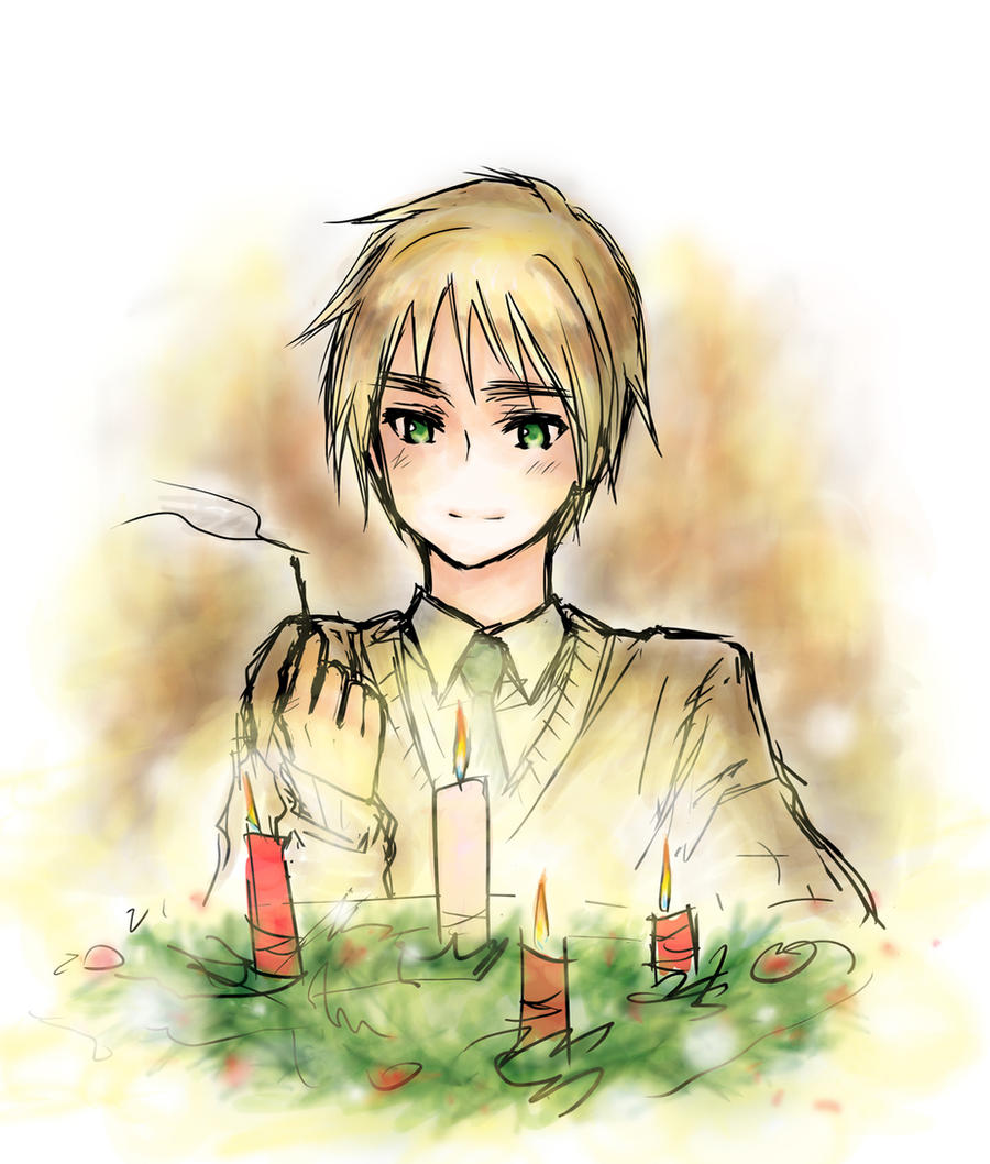 aph christmas's coming by mikitaka