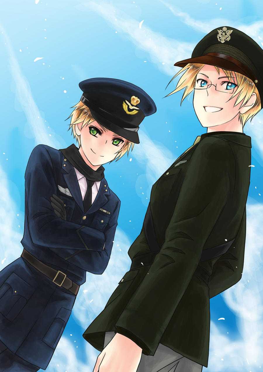 aph Air Force USandUK by mikitaka