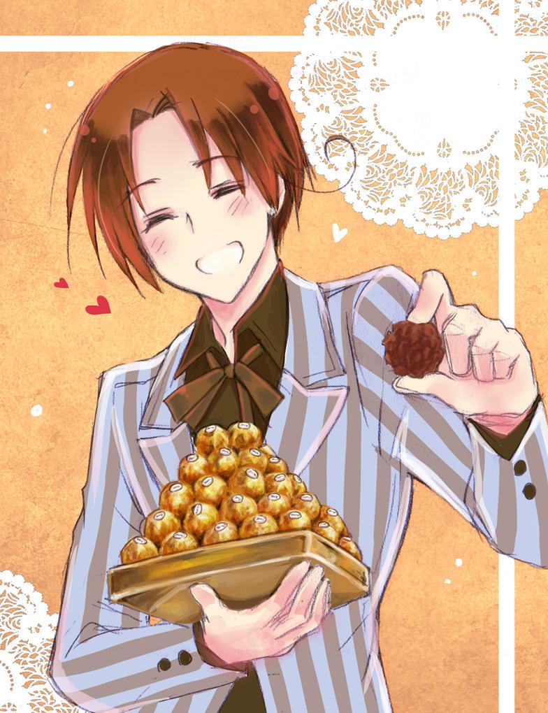 Happy Valentine-Italy by mikitaka