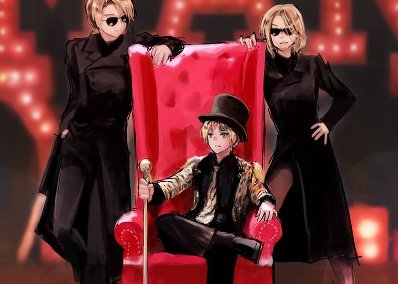 aph Red chair by mikitaka
