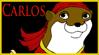Carlos Stamp by MischievousPooka