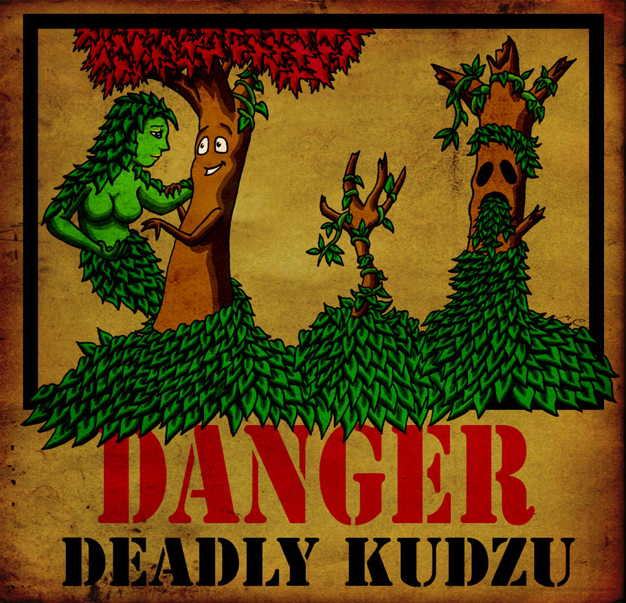 Deadly Kudzu by MischievousPooka