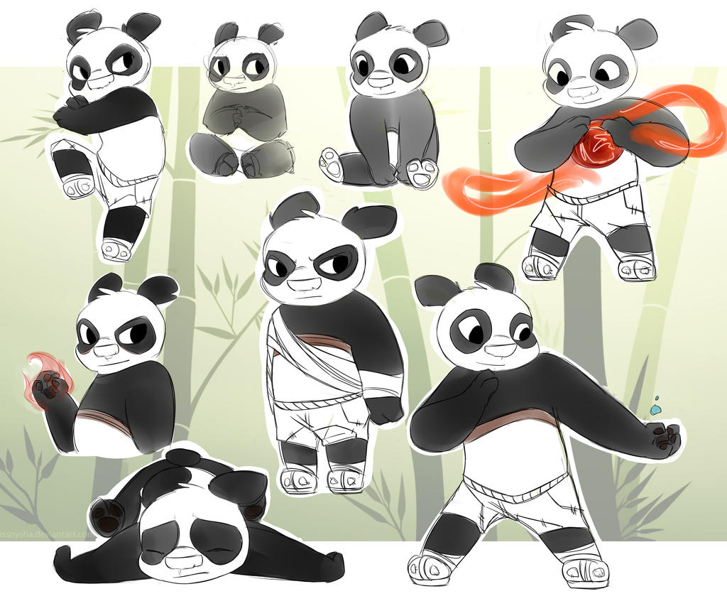 Po doodles by LittleChaCha