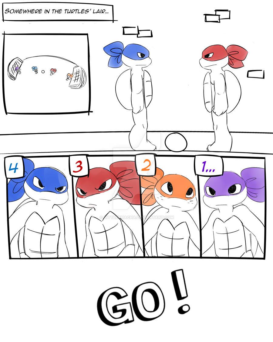 Football Ninja page 01 by LittleChaCha