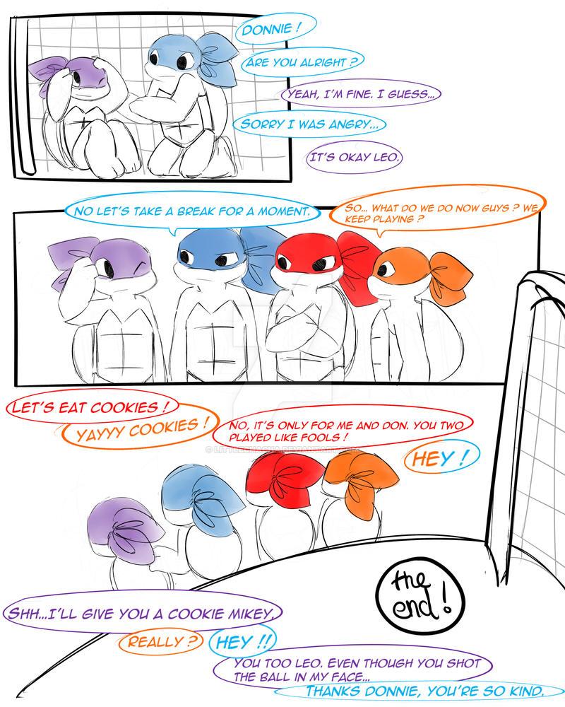 Football ninja page 05 by LittleChaCha
