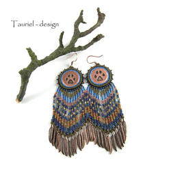 Wolf Woman - Tribal Woman collection