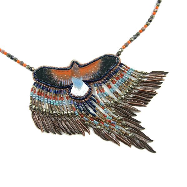 Falcon Woman - Tribal Woman collection by Tau-riel