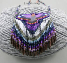 Falcon at Dusk - Tribal Woman Collection