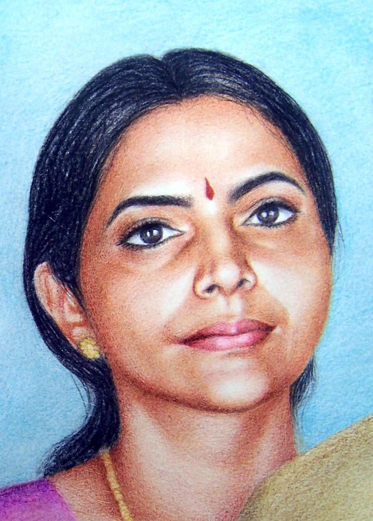 meena by subhankar-biswas