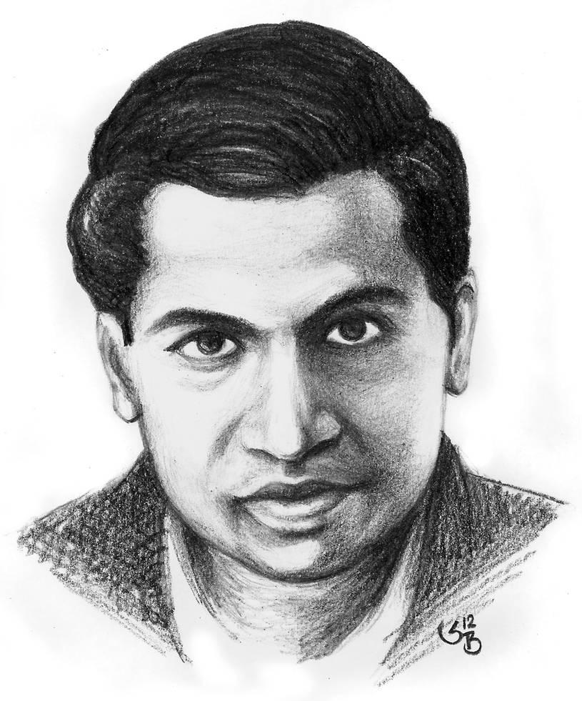 Ramanujan by subhankar biswas on deviantart