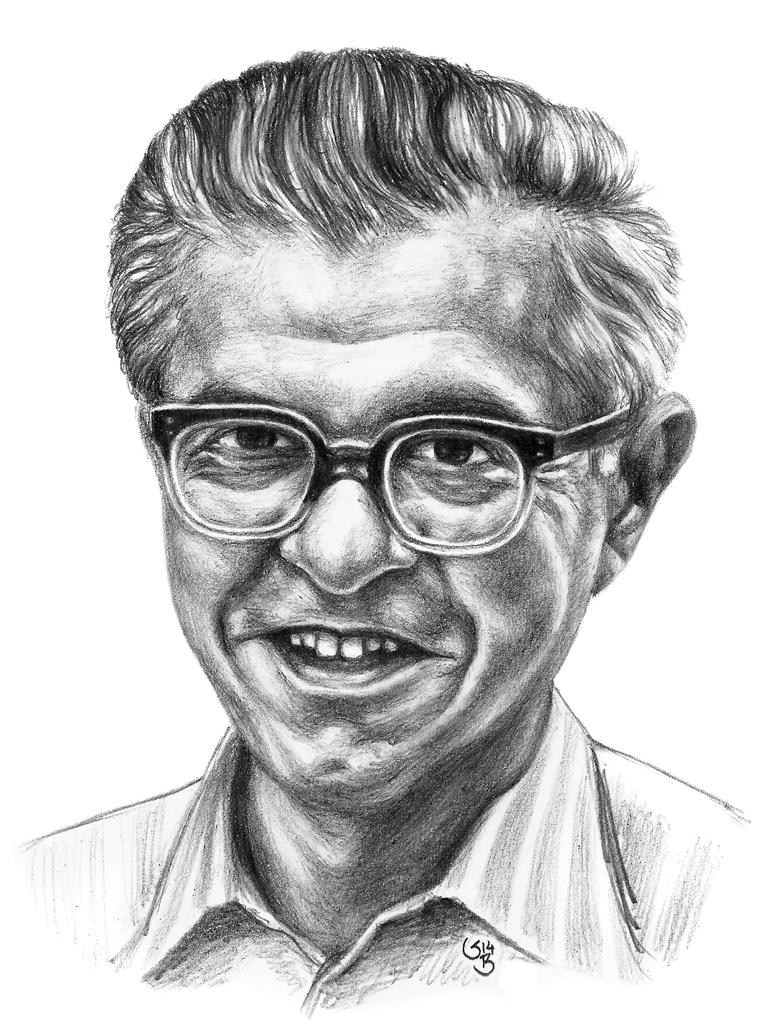 Fred Hoyle by subhankar-biswas
