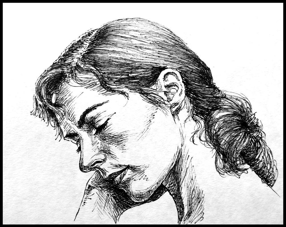 a deep melancholy (Saskia Reeves) by subhankar-biswas