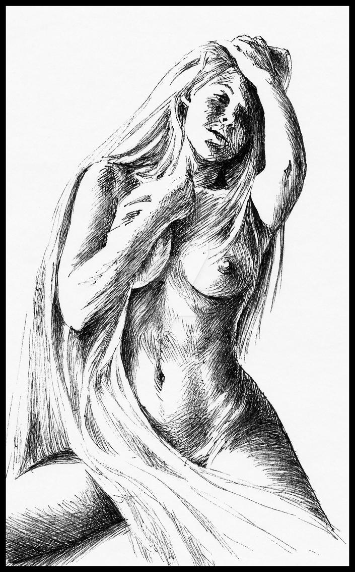 Nude morning by subhankar-biswas
