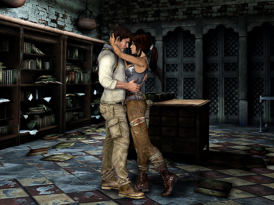 nate and lara one for the road by alienfodder on deviantart