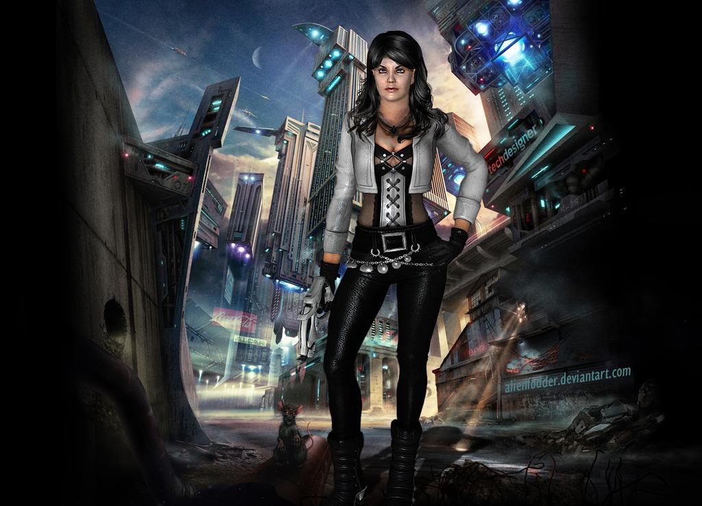 Shepard - Sins of the Past by AlienFodder