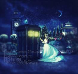 Disney Princesses Meeting the Doctor in the TARDIS