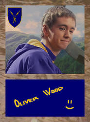 Oliver Wood - Autograph Card by Second-Thoughts