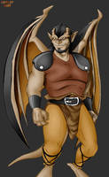 A young Gargoyle named... by Harley-1979