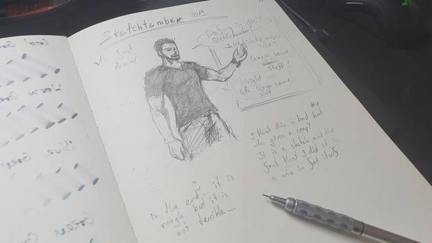Sketchtember day 1 - Just start