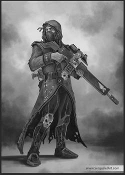 Assassin W40k Commission