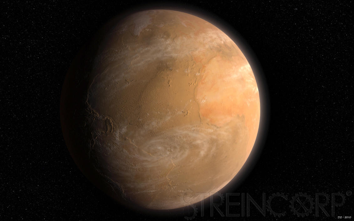Marsformed Earth by streincorp