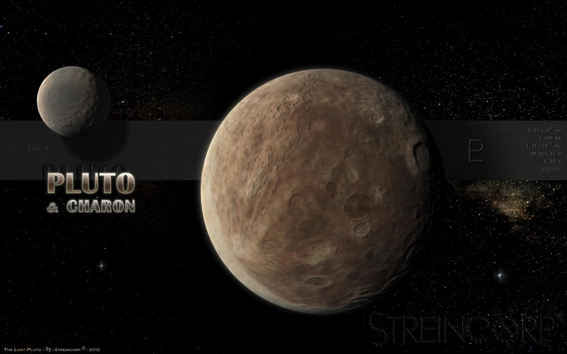 Kerberos Moon Of Plluto: The Lost Pluto By Streincorp On DeviantArt
