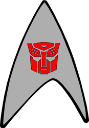 Starfleet Autobot Badge