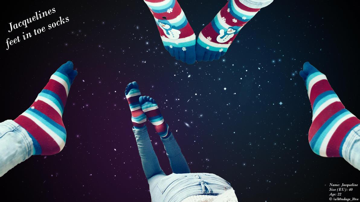 Jacquelines feet in the galaxy! :3 by b0ndagel0ve