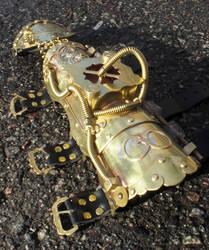 Steampunk Armpiece by fairyfrog