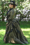 Victorian Travel Gown