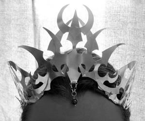 Darkelf crown - front